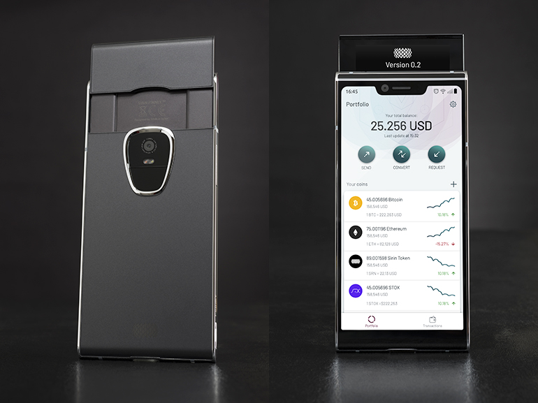 Sirin Labs Launches Blockchain-Centric 'Finney' Smartphone