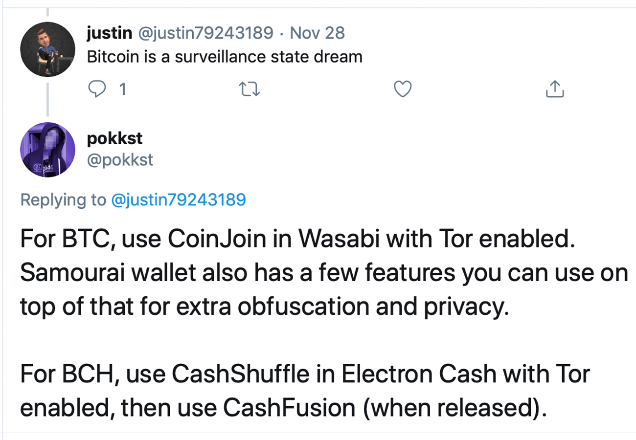 A Tor-Integrated Cashfusion Build for Bitcoin Cash Is Coming