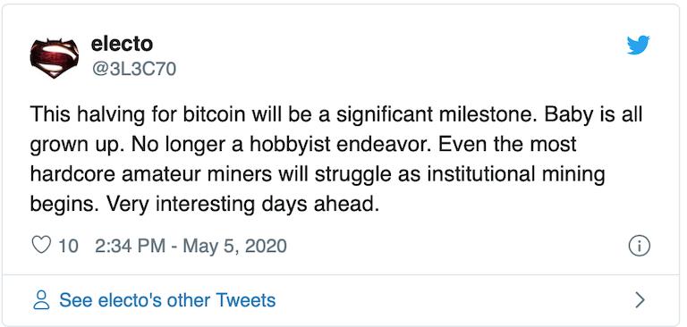 观点 | 减半会对矿工造成什么影响?