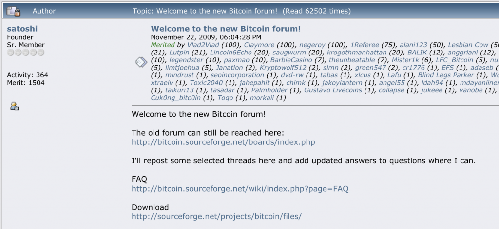 Bitcoin History Part 1: In the Beginning